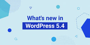 What's New in WordPress 5.4